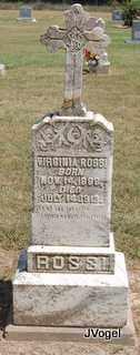ROSSI, VIRGINIA - Montague County, Texas | VIRGINIA ROSSI - Texas Gravestone Photos
