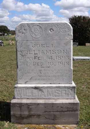 WILLIAMSON, JOEL I. - Montague County, Texas | JOEL I. WILLIAMSON - Texas Gravestone Photos