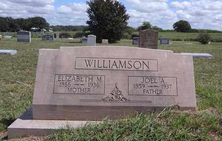 WILLIAMSON, JOEL A. - Montague County, Texas   JOEL A. WILLIAMSON - Texas Gravestone Photos
