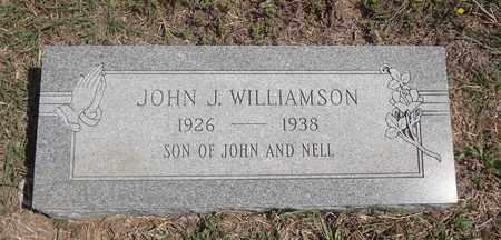 WILLIAMSON, JOHN J - Montague County, Texas | JOHN J WILLIAMSON - Texas Gravestone Photos