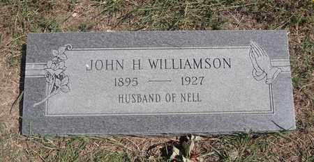WILLIAMSON, JOHN J. - Montague County, Texas | JOHN J. WILLIAMSON - Texas Gravestone Photos
