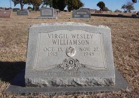 WILLIAMSON, VIRGIL WESLEY - Montague County, Texas   VIRGIL WESLEY WILLIAMSON - Texas Gravestone Photos