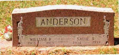ANDERSON, WILLIAM  R. - Montgomery County, Texas   WILLIAM  R. ANDERSON - Texas Gravestone Photos