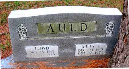 AULD, MILEY  L. - Montgomery County, Texas | MILEY  L. AULD - Texas Gravestone Photos
