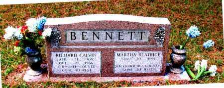 BENNETT, RICHARD CALVIN - Montgomery County, Texas | RICHARD CALVIN BENNETT - Texas Gravestone Photos