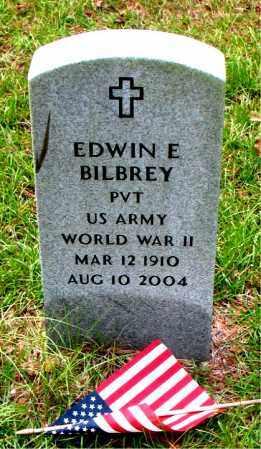 BILBREY (VETERAN WWII), EDWIN E - Montgomery County, Texas | EDWIN E BILBREY (VETERAN WWII) - Texas Gravestone Photos