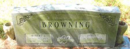 BROWNING, ROBERT  J. - Montgomery County, Texas   ROBERT  J. BROWNING - Texas Gravestone Photos