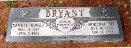 BRYANT, MODENIA  (SIS) - Montgomery County, Texas | MODENIA  (SIS) BRYANT - Texas Gravestone Photos
