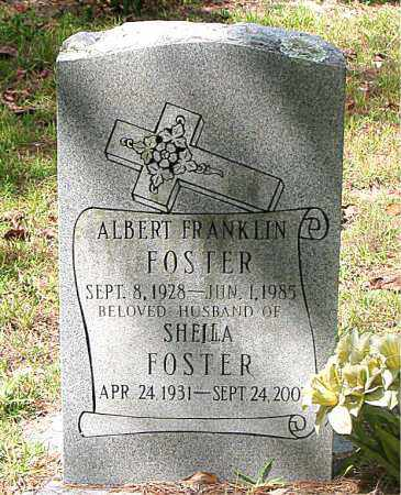 FOSTER, ALBERT FRANKLIN - Montgomery County, Texas | ALBERT FRANKLIN FOSTER - Texas Gravestone Photos