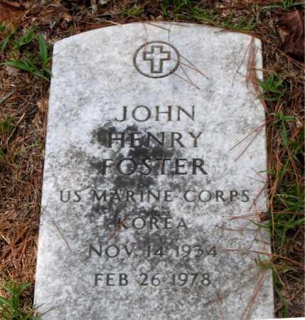 FOSTER (VETERAN KOR), JOHN HENRY - Montgomery County, Texas | JOHN HENRY FOSTER (VETERAN KOR) - Texas Gravestone Photos