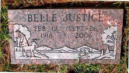 JUSTICE, BELLE - Montgomery County, Texas | BELLE JUSTICE - Texas Gravestone Photos