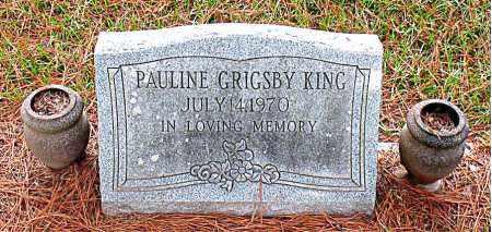KING, PAULINE   - Montgomery County, Texas | PAULINE   KING - Texas Gravestone Photos