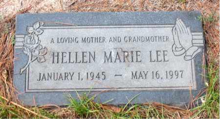 LEE, HELLEN MARIE - Montgomery County, Texas | HELLEN MARIE LEE - Texas Gravestone Photos