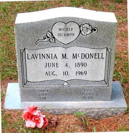MCDONELL, LAVINNIA M - Montgomery County, Texas | LAVINNIA M MCDONELL - Texas Gravestone Photos