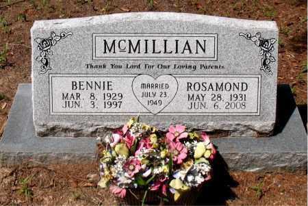 MCMILLIAN, BENNIE - Montgomery County, Texas | BENNIE MCMILLIAN - Texas Gravestone Photos