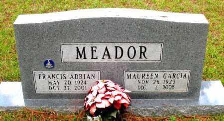 MEADOR, FRANCIS  ADRIAN - Montgomery County, Texas | FRANCIS  ADRIAN MEADOR - Texas Gravestone Photos