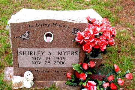 MYERS, SHIRLEY  A. - Montgomery County, Texas | SHIRLEY  A. MYERS - Texas Gravestone Photos