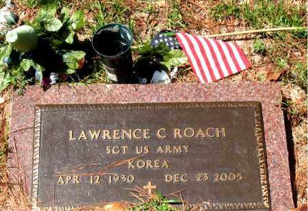 ROACH (VETERAN KOR), LAWRENCE C - Montgomery County, Texas | LAWRENCE C ROACH (VETERAN KOR) - Texas Gravestone Photos