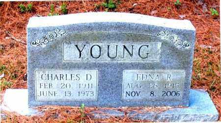 YOUNG, EDNA R - Montgomery County, Texas | EDNA R YOUNG - Texas Gravestone Photos