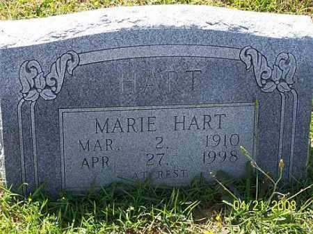 HART, BESSIE MARIE - Morris County, Texas | BESSIE MARIE HART - Texas Gravestone Photos