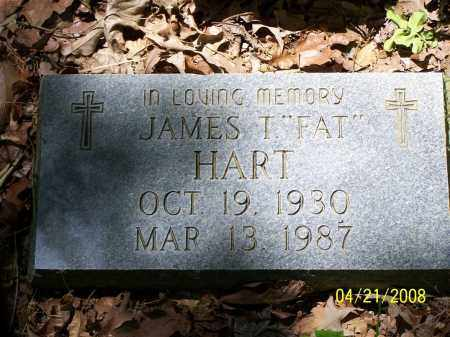 "HART, JAMES T ""FAT"" - Morris County, Texas | JAMES T ""FAT"" HART - Texas Gravestone Photos"