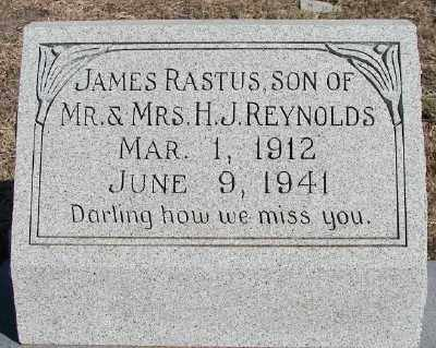 REYNOLDS, JAMES RASTUS - Navarro County, Texas | JAMES RASTUS REYNOLDS - Texas Gravestone Photos