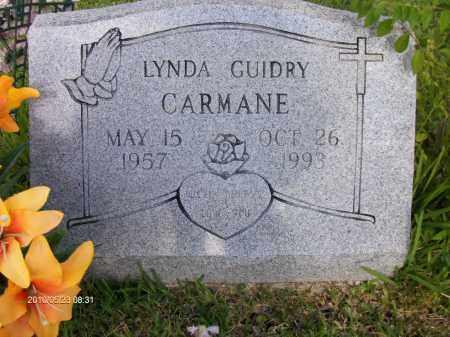 CARMANE, LINDA ANN - Orange County, Texas | LINDA ANN CARMANE - Texas Gravestone Photos