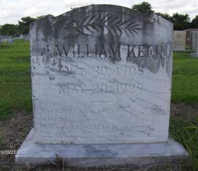 KERR, JOSEPH WILLIALM - Orange County, Texas | JOSEPH WILLIALM KERR - Texas Gravestone Photos