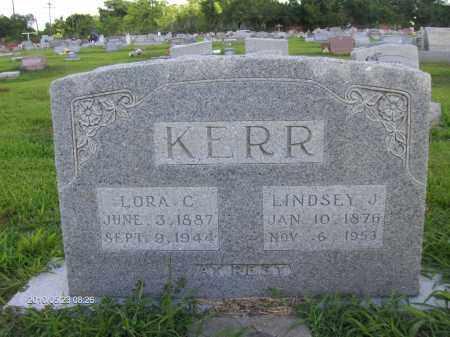 KERR, LINDSEY JACKSON - Orange County, Texas | LINDSEY JACKSON KERR - Texas Gravestone Photos