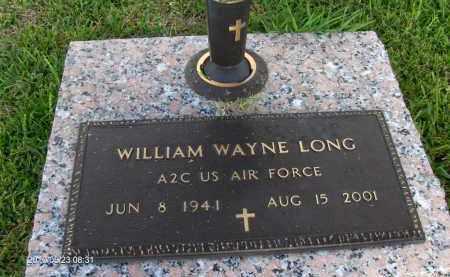 LONG, WILLIAM WAYNE - Orange County, Texas   WILLIAM WAYNE LONG - Texas Gravestone Photos