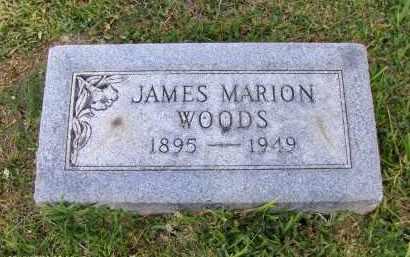 WOODS, JAMES MARION - Orange County, Texas | JAMES MARION WOODS - Texas Gravestone Photos