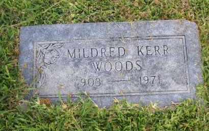 WOODS, MILDRED - Orange County, Texas | MILDRED WOODS - Texas Gravestone Photos
