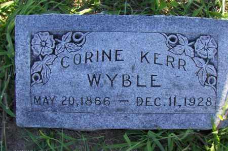WYBLE, ANNIE CORINE - Orange County, Texas | ANNIE CORINE WYBLE - Texas Gravestone Photos