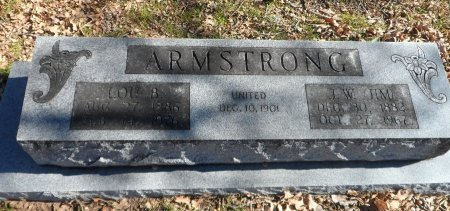 ARMSTRONG, JAMES WALTER - Parker County, Texas | JAMES WALTER ARMSTRONG - Texas Gravestone Photos