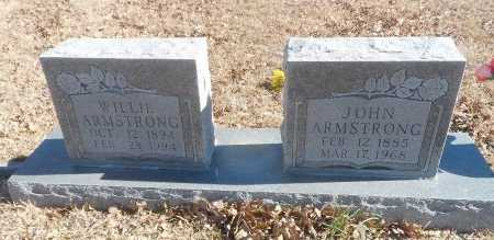 ARMSTRONG, WILLIE LEE - Parker County, Texas | WILLIE LEE ARMSTRONG - Texas Gravestone Photos