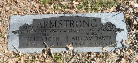 ARMSTRONG, WILLIAM BAKER - Parker County, Texas | WILLIAM BAKER ARMSTRONG - Texas Gravestone Photos