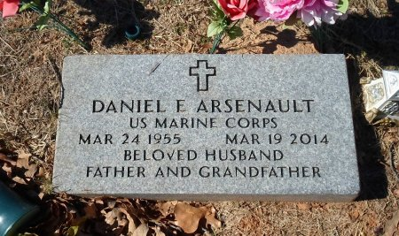 ARSENAULT (VETERAN), DANIEL E. - Parker County, Texas | DANIEL E. ARSENAULT (VETERAN) - Texas Gravestone Photos