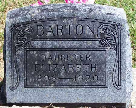BARTON, ELIZABETH - Parker County, Texas | ELIZABETH BARTON - Texas Gravestone Photos
