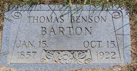 BARTON, THOMAS BENSON - Parker County, Texas   THOMAS BENSON BARTON - Texas Gravestone Photos