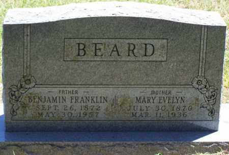 BEARD, BENJAMIN FRANKLIN - Parker County, Texas | BENJAMIN FRANKLIN BEARD - Texas Gravestone Photos