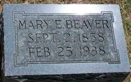 BEAVER, MARY ELIZABETH - Parker County, Texas | MARY ELIZABETH BEAVER - Texas Gravestone Photos