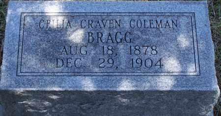 COLEMAN BRAGG, CEILIA CRAVEN - Parker County, Texas | CEILIA CRAVEN COLEMAN BRAGG - Texas Gravestone Photos