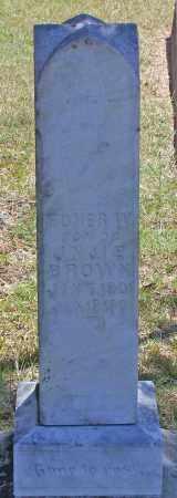 BROWN, HOMER W - Parker County, Texas | HOMER W BROWN - Texas Gravestone Photos