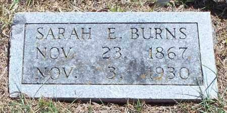 MARTIN BURNS, SARAH ELIZABETH - Parker County, Texas | SARAH ELIZABETH MARTIN BURNS - Texas Gravestone Photos