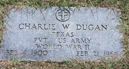 DUGAN (VETERA WWII), CHARLIE W - Parker County, Texas | CHARLIE W DUGAN (VETERA WWII) - Texas Gravestone Photos