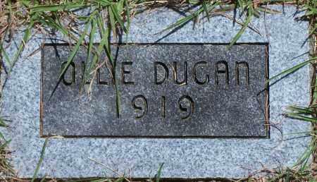DUGAN, OLLIE - Parker County, Texas | OLLIE DUGAN - Texas Gravestone Photos
