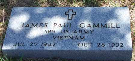 GAMMILL (VETERAN VIET), JAMES PAUL - Parker County, Texas | JAMES PAUL GAMMILL (VETERAN VIET) - Texas Gravestone Photos