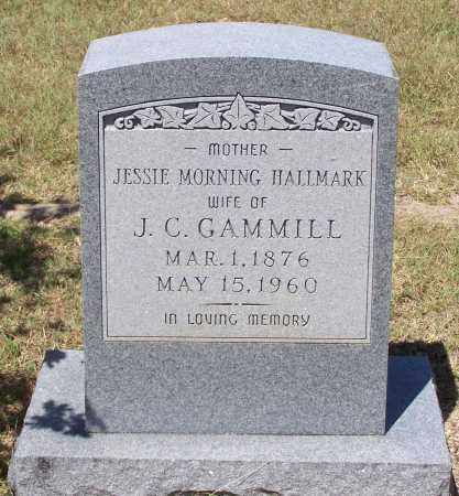 GAMMILL, JESSIE MORNING - Parker County, Texas | JESSIE MORNING GAMMILL - Texas Gravestone Photos