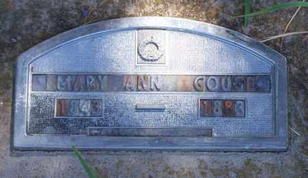GOUGE, MARY ANN - Parker County, Texas | MARY ANN GOUGE - Texas Gravestone Photos