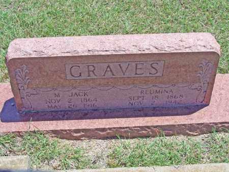 GRAVES, M JACK - Parker County, Texas | M JACK GRAVES - Texas Gravestone Photos
